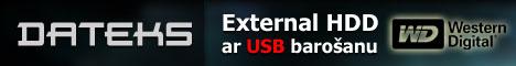 Ārējie diski (external hdd) ar USB barošanu - dateks.lv